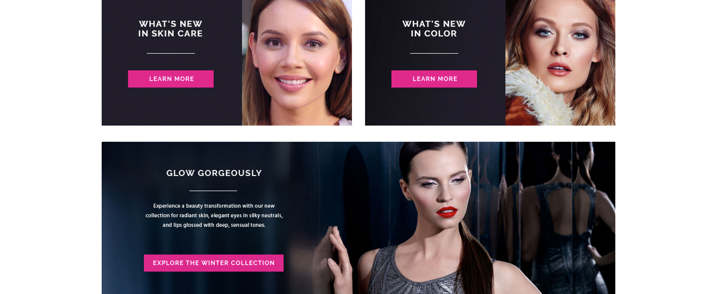 Helping a Cosmetic Company Look and Feel Their Very Best Online Build Image-1