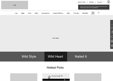 wet n wild Redesign & Ecommerce Implementation UX Strategy Image 1
