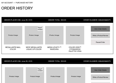 wet n wild Redesign & Ecommerce Implementation UX Strategy Image 3