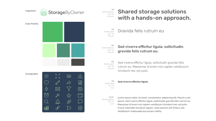 Storage By Owner Web Design and Development Case Study UX Strategy Image 2