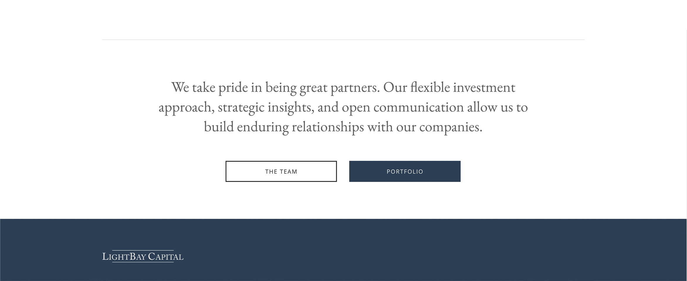 Investment firm acquires a beautiful new website with a modern touch Build Image-0