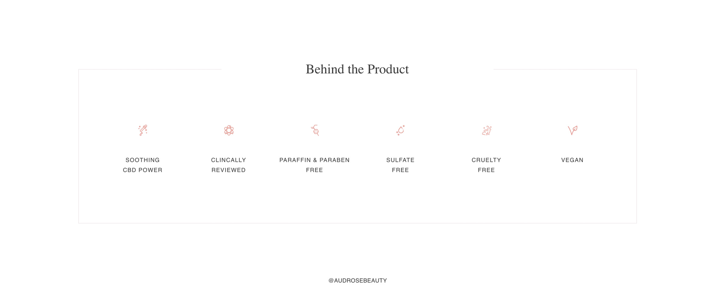 Creating a Calm and Serene Ecommerce Presence for an Elevated CBD Skincare Brand Build Image-2