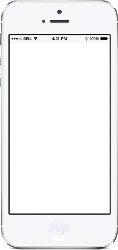 Apple redesign mobile screen
