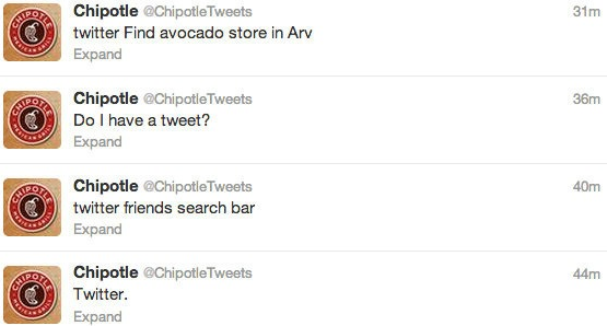 chipotle twitter example
