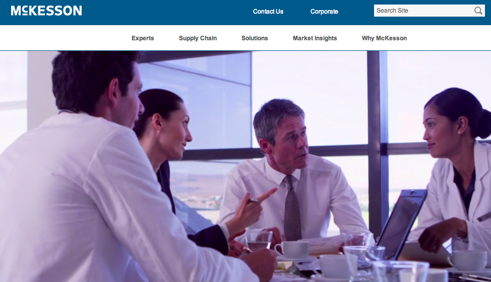 McKesson-website