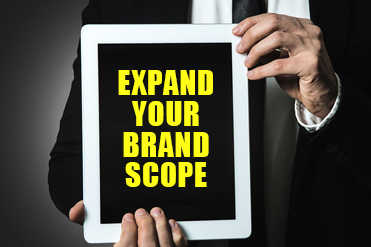 Expand Your Brand Scope Feature