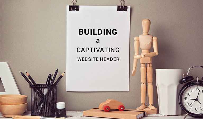 Building a Captivating Website Header