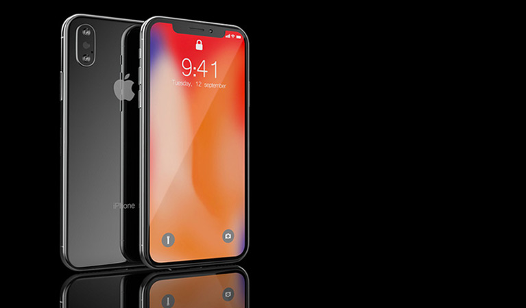 iPhone X Mobile Site Design