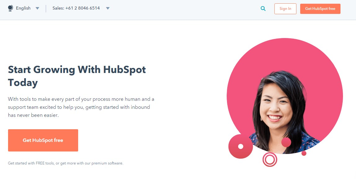 hubspot-landing-page-example
