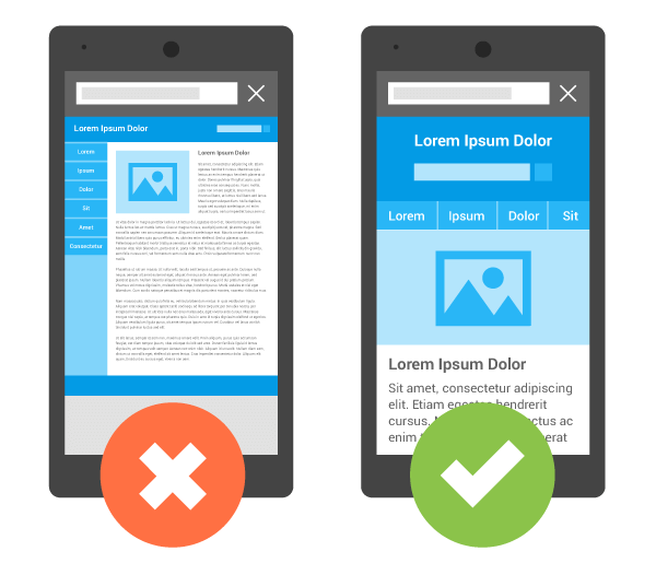 Mobile Friendly Landing Page Example