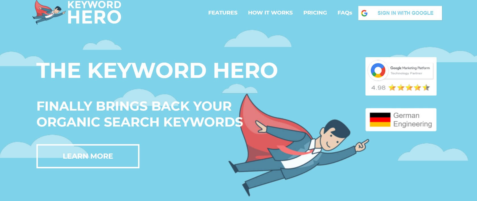 Keyword Hero SEO Tool