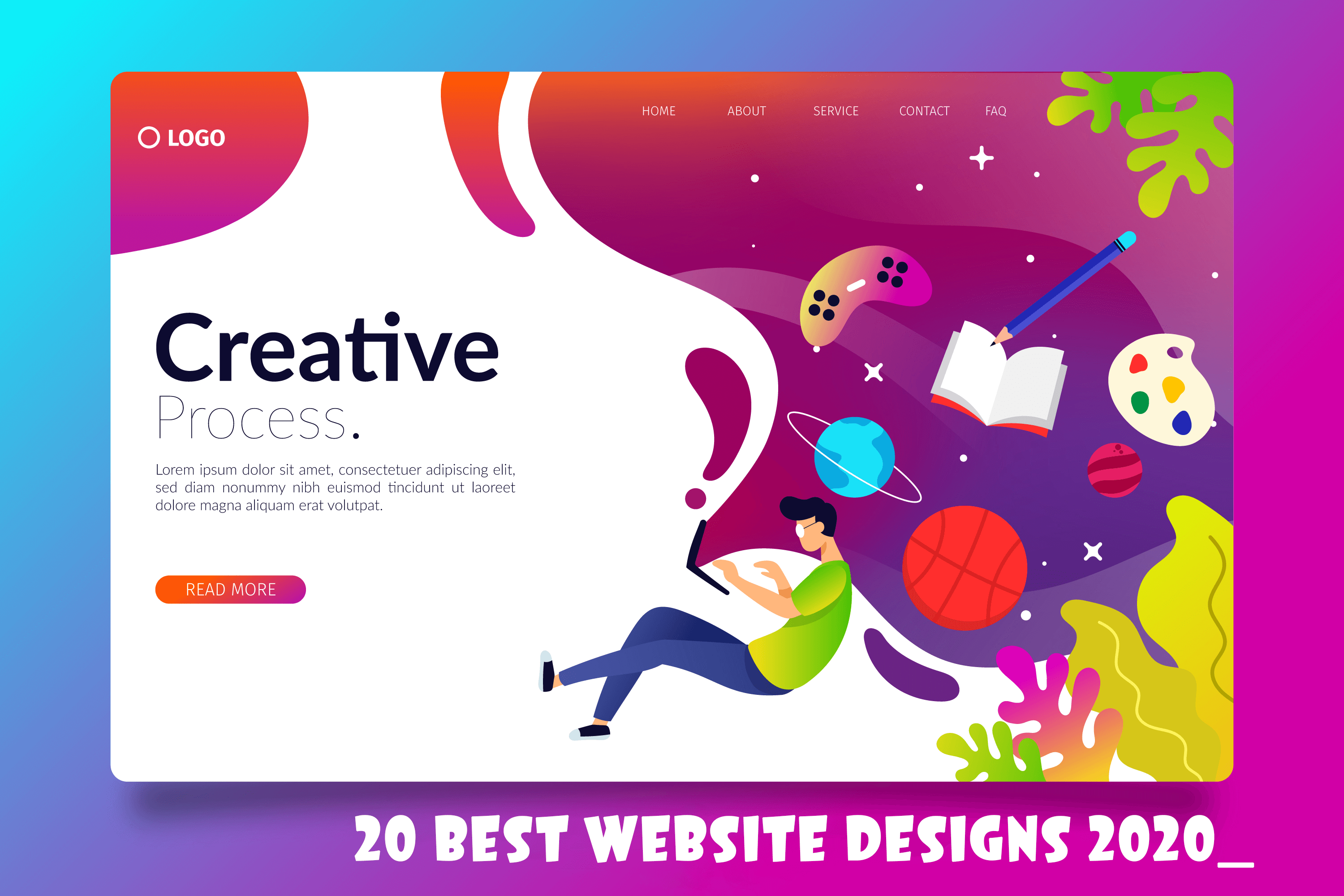 20 best website design 2020