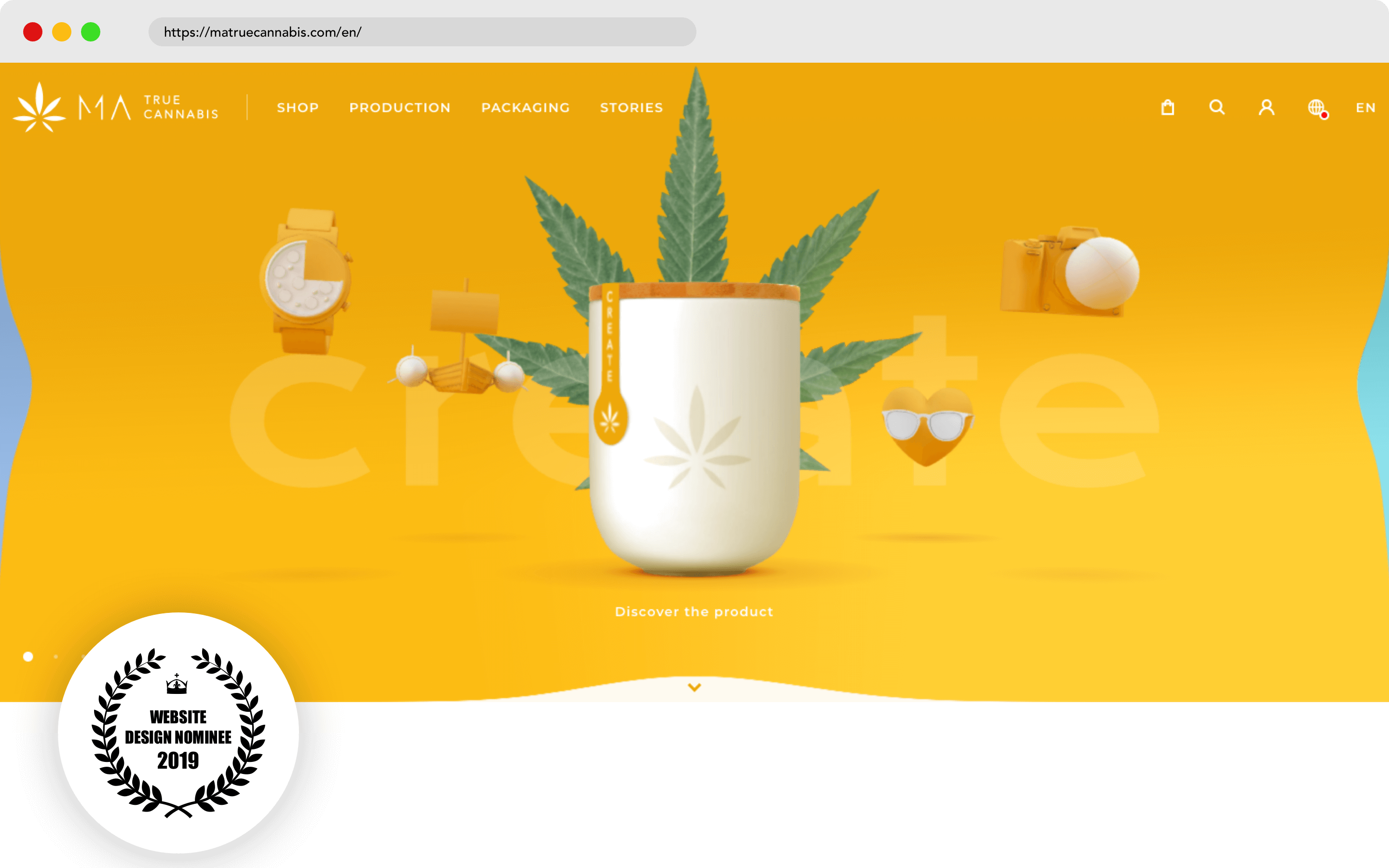 Matruecannabis Website Design