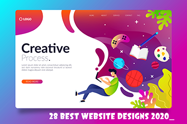 Top 28 website designs 2020
