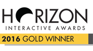 Gold Winner Horizon Awards 2016
